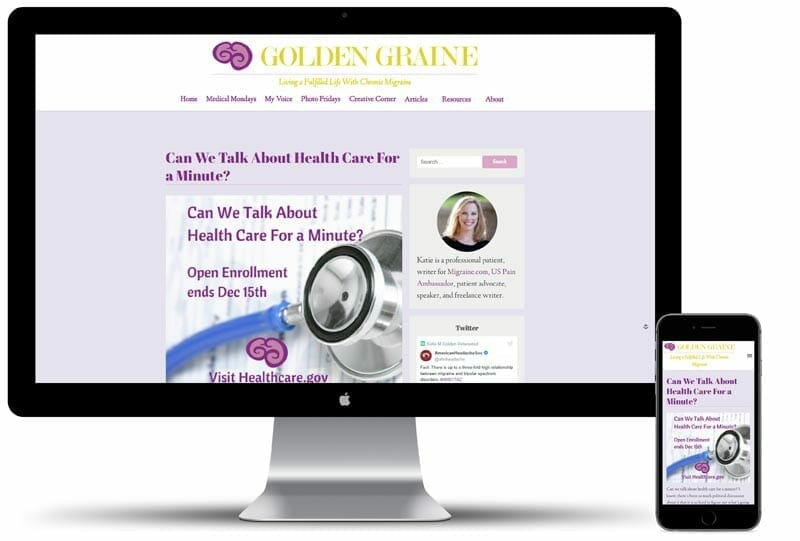Golden Graine Website